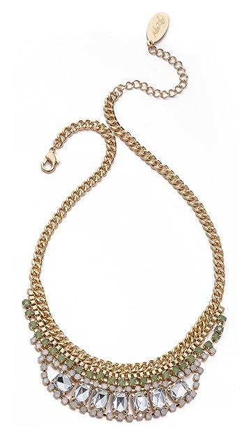 Adia Kibur Short Crystal Necklace