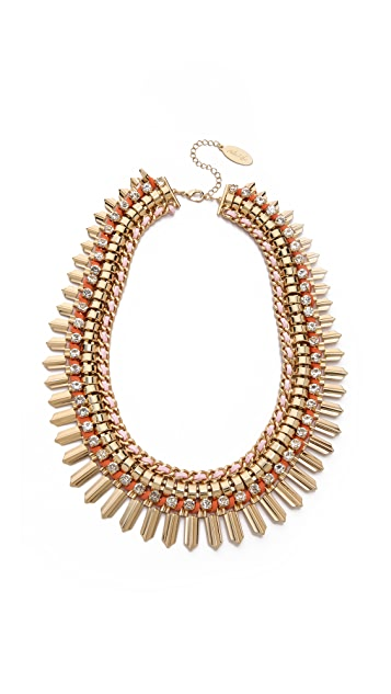Adia Kibur Crystal Statement Necklace