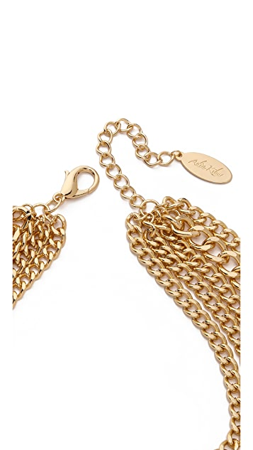 Adia Kibur Bold Layer Chain Necklace