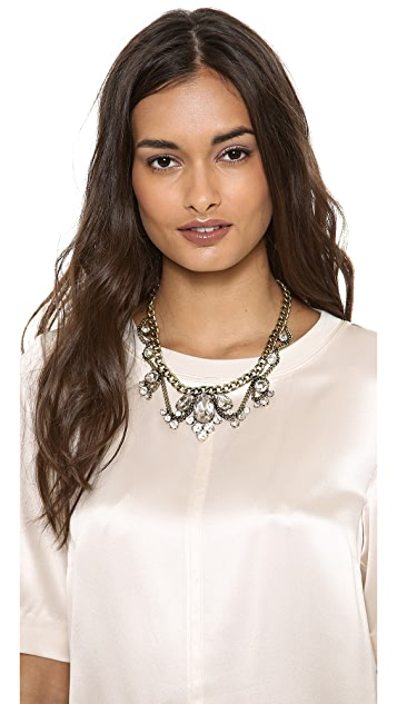 Adia Kibur Crystal Choker Necklace