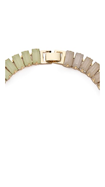Adia Kibur Rectangle Link Necklace