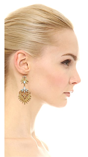 Adia Kibur Statement Petal Earrings