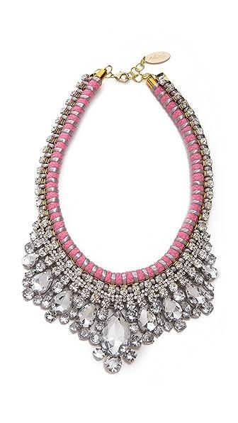 Adia Kibur Crystal Adorned Choker Necklace