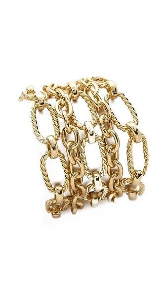 Adia Kibur Layered Chain Bracelet