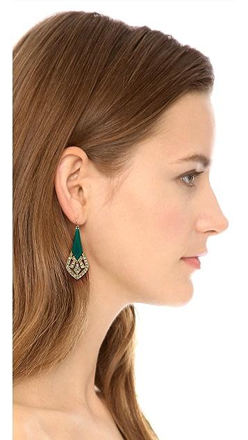 Adia Kibur Crystal Embellished Earrings