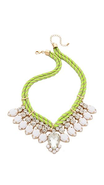 Adia Kibur Neon Crystal Necklace
