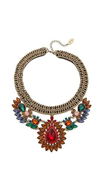 Adia Kibur Floral Statement Necklace
