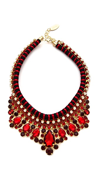 Adia Kibur Crystal Rope Necklace