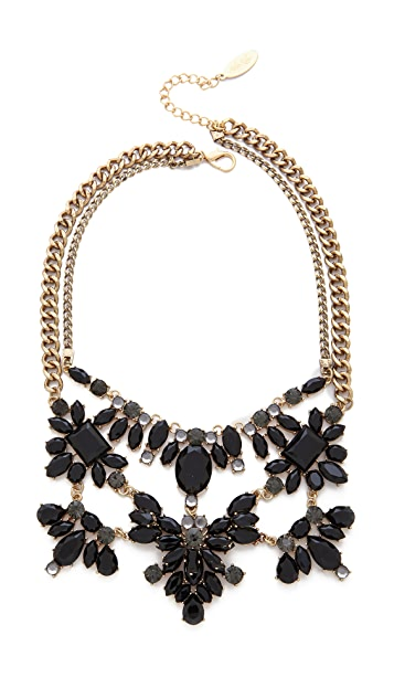 Adia Kibur Stone Statement Necklace