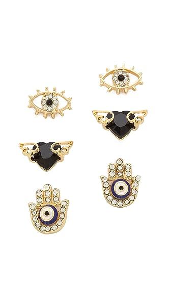 Adia Kibur Earring Set