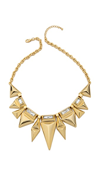 Adia Kibur Crystal Embellished Necklace