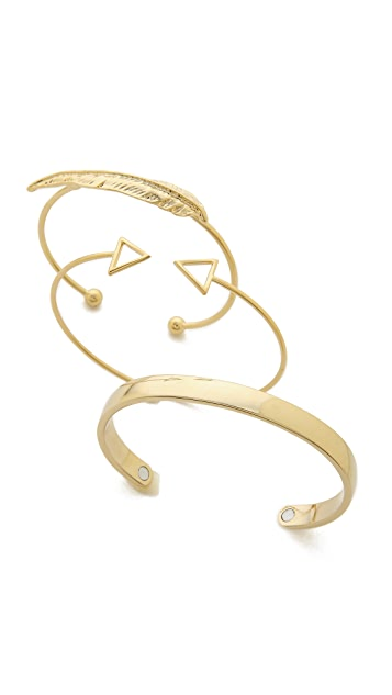 Adia Kibur Bangle Bracelet Set