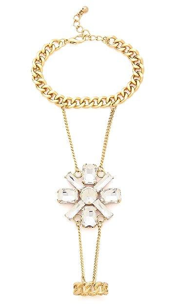Adia Kibur Crystal Hand Chain