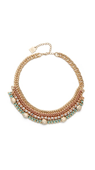 Adia Kibur Anne Necklace - Pink Multi