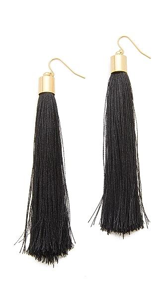 Adia Kibur Zoe Tassel Earrings