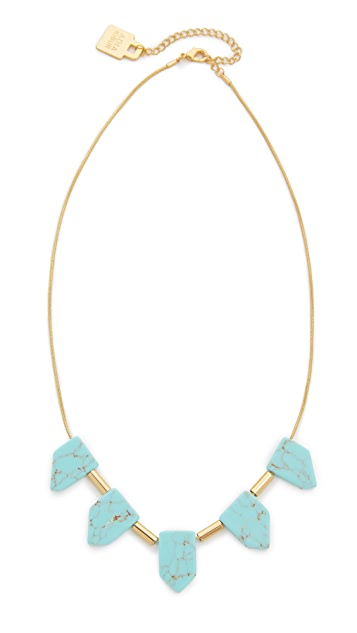 Adia Kibur Stone Audrey Necklace