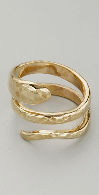 Adina Reyter Double Coil Snake Ring