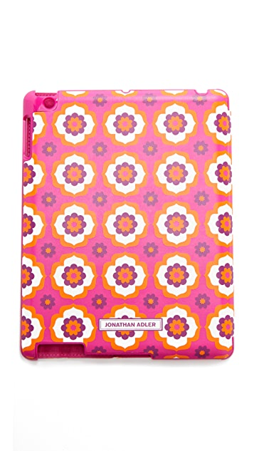 Jonathan Adler Retro Floral iPad Case with Stand