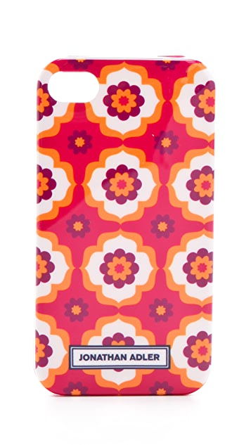 Jonathan Adler Retro Floral iPhone 4 Cover