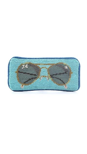 Jonathan Adler Aviator Sunglasses Case