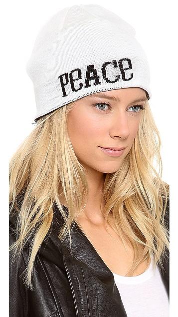 Jonathan Adler Peace & Love Reversible Beanie