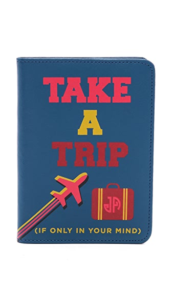 "Jonathan Adler ""Take a Trip"" Passport Case"