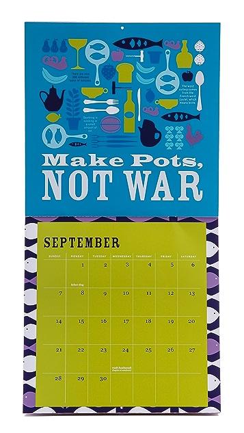 Jonathan Adler Wall Calendar