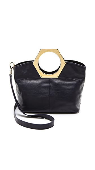 Jonathan Adler Medium Hex Handle Tote
