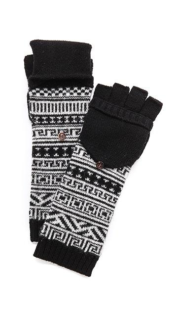 Jonathan Adler Bobo Fair Isle Popover Gloves | SHOPBOP