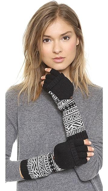 Jonathan Adler Bobo Fair Isle Popover Gloves
