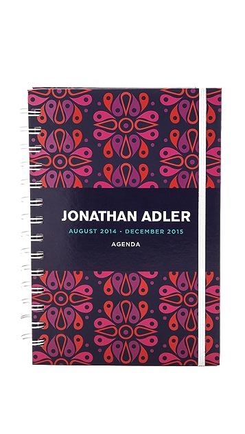 Jonathan Adler 17 Month Agenda