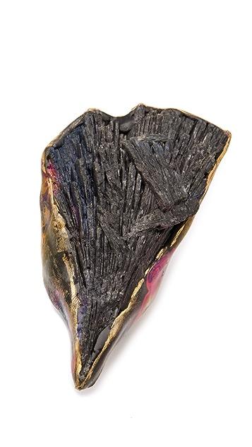 Adina Mills Design Black Kyanite Ring