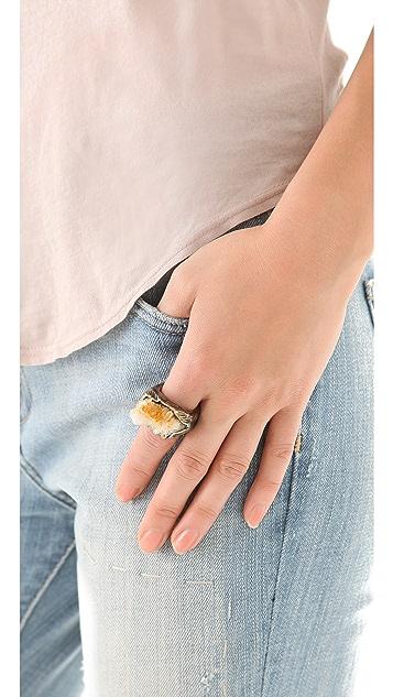 Adina Mills Design Quartz Pinky Ring