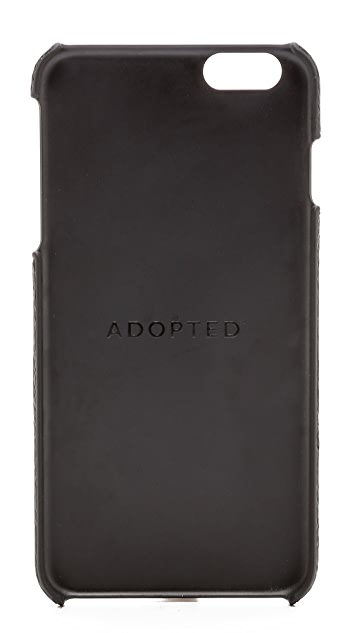 ADOPTED Leather iPhone 6 Plus Case