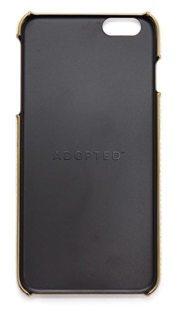 ADOPTED Leather Wrap iPhone 6 Plus Case