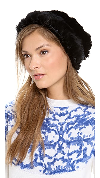 Adrienne Landau Bryan Boy for Adrienne Landau Fur Hat