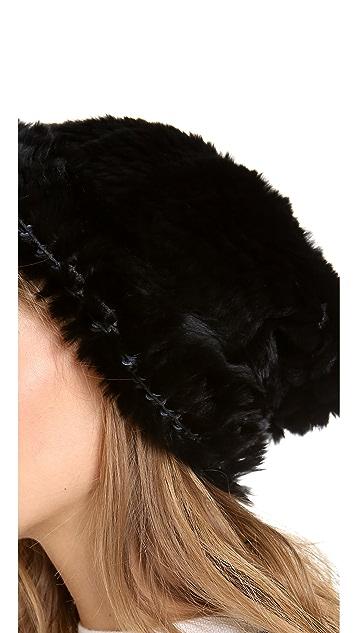 Adrienne Landau Bryan Boy for Adrienne Landau Fur Hat