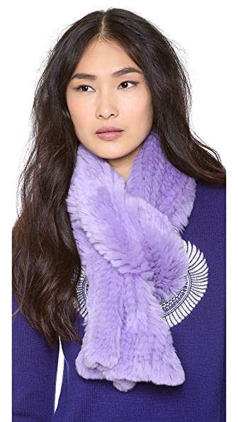 Adrienne Landau Bryan Boy for Adrienne Landau Fur Scarf