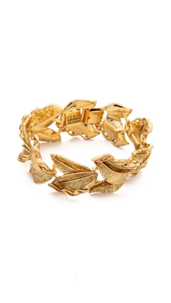 AERIN Erickson Beamon Leaf Bracelet