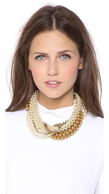 AERIN Erickson Beamon Twisted Necklace