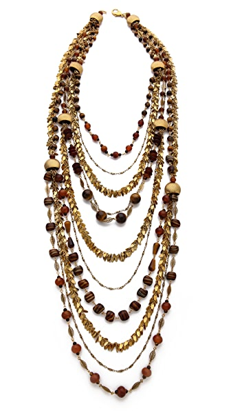 AERIN Erickson Beamon Beaded Layered Necklace