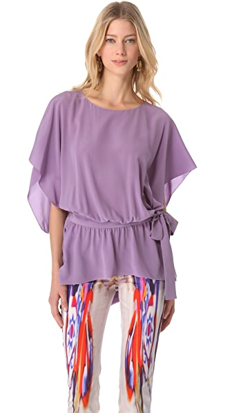 Alberta Ferretti Collection Long Sleeve Tunic Top