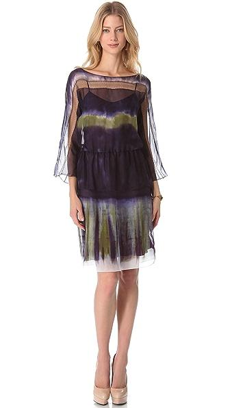 Alberta Ferretti Collection Long Sleeve Dress