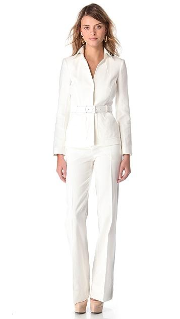 Alberta Ferretti Collection White Pants