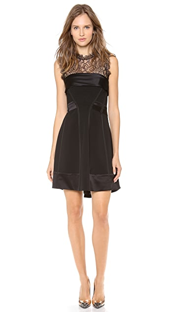 Alberta Ferretti Collection Sleeveless Corset Dress