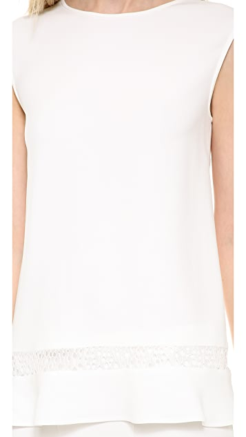 Alberta Ferretti Collection Sleeveless Top