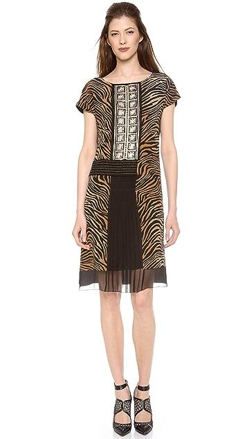 Alberta Ferretti Collection Short Sleeve Dress