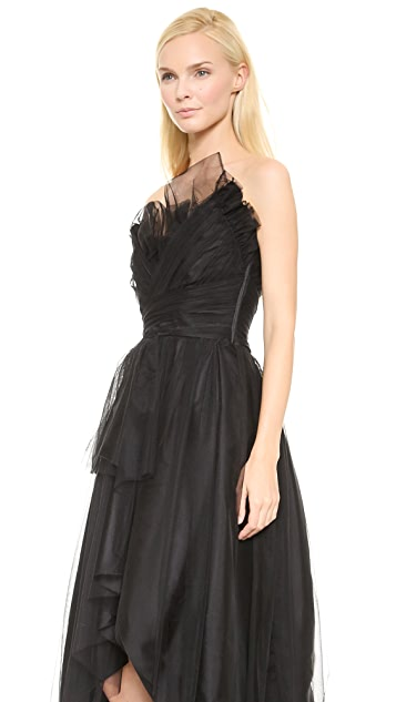 Alberta Ferretti Collection Limited Edition Sleeveless Gown