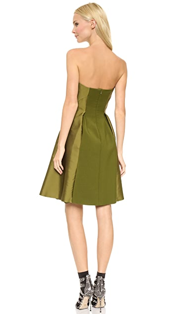 Alberta Ferretti Collection Strapless Dress
