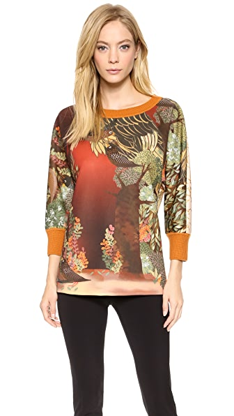 Alberta Ferretti Collection Printed Sweatshirt